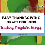 Thanksgiving Kids Craft Idea: Turkey Napkin Rings