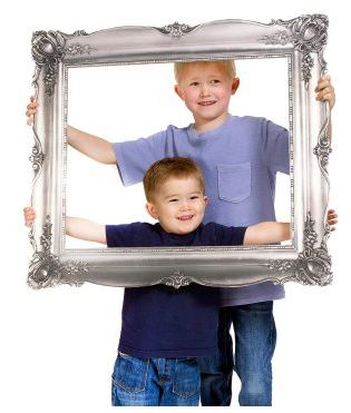 Antique Frame Photo Prop