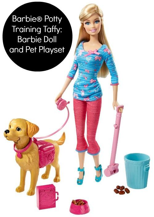 Barbie Potty Training Taffy Barbie Doll and Pet Playset, Barbie Toys, New Barbie Toys, Barbie Dolls, Barbie 2014