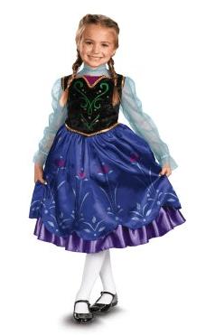 Disney Frozen Anna Costume, frozen costume