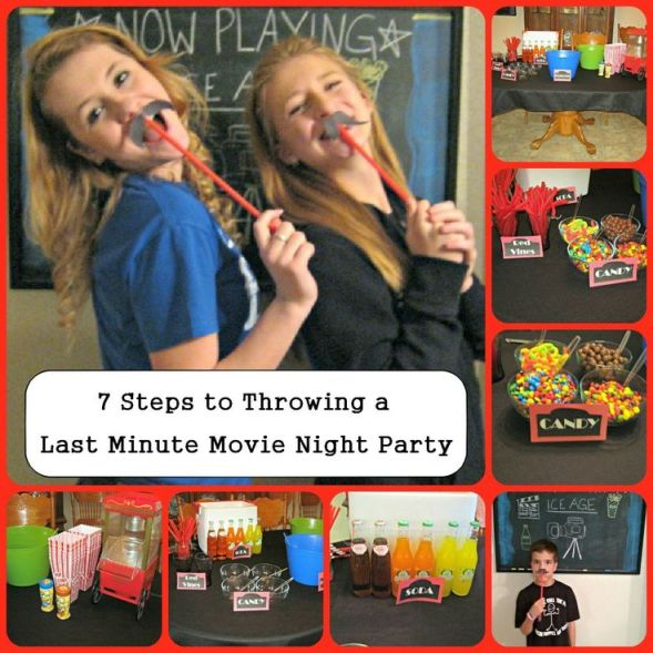 How to throw a movie night party