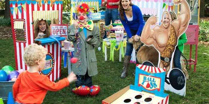 Carnival 1st Birthday Theme