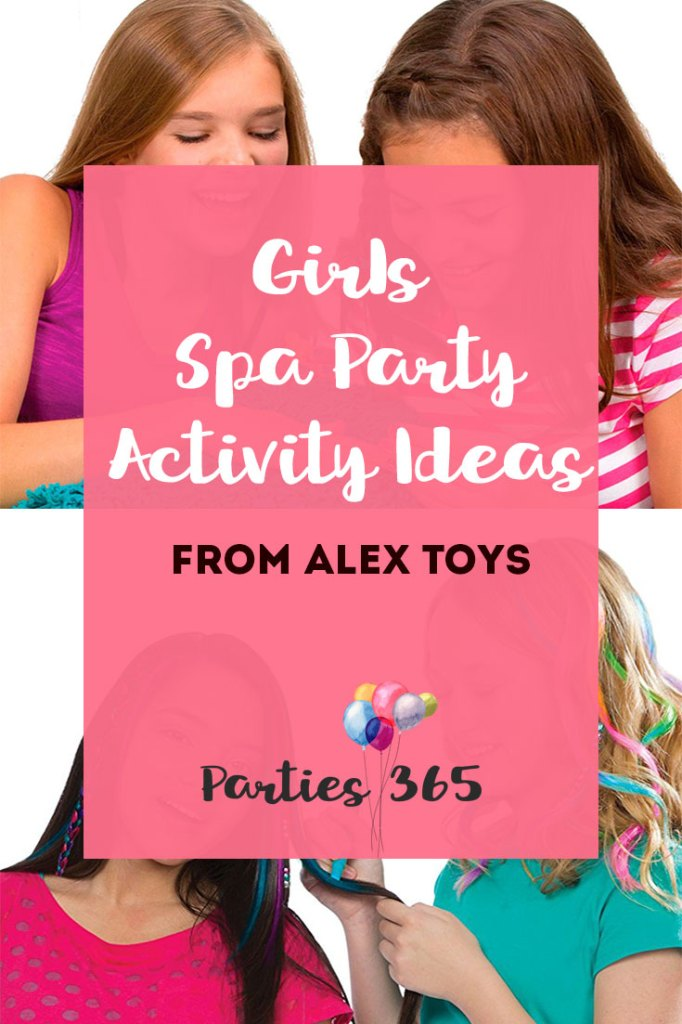 Girls Spa Party Activities