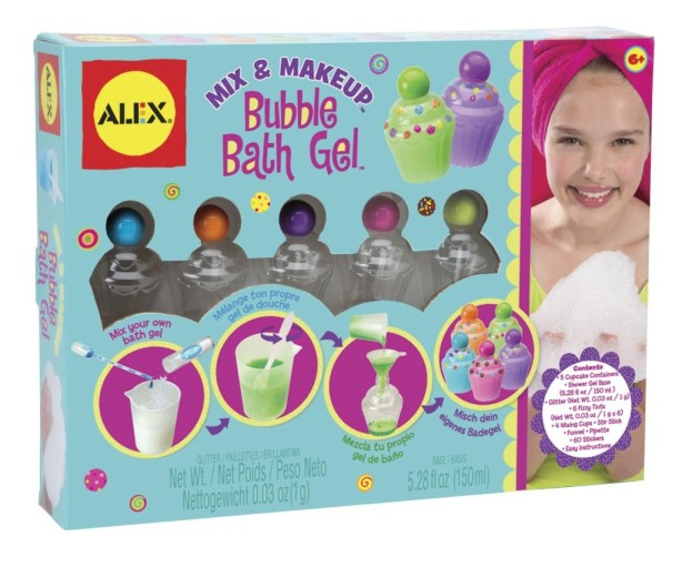 Mix & Makeup – Bubble Bath Gel Alex Toys, Girls Spa Party Ideas