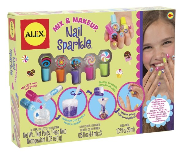 Mix & Makeup - Nail Sparkle, Girls Spa Party Ideas