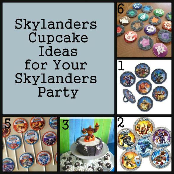 Skylanders Cupcake Ideas, Skylanders Party