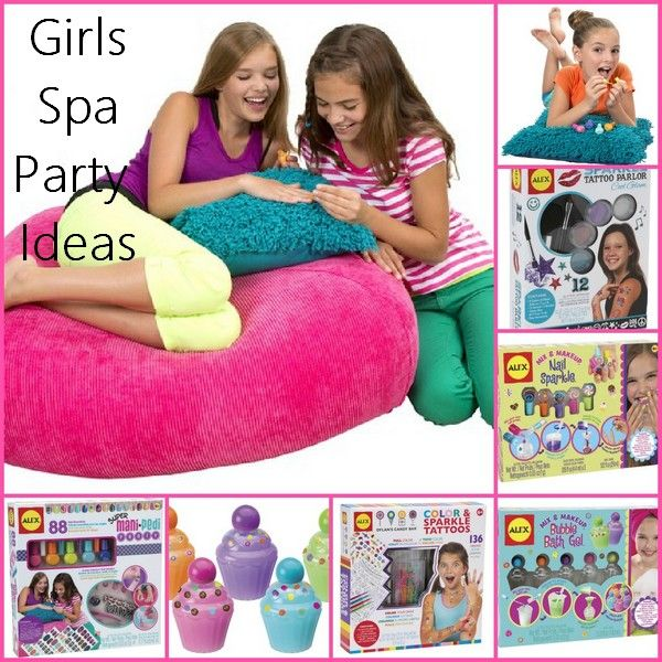 Fabulous Girls Spa Party Activity and Toy ideas from ALEX Toys! Great place to find spa activities to keep the girls busy at your spa party! Girls Spa Party   Spa Party Ideas   Spa Party Activities