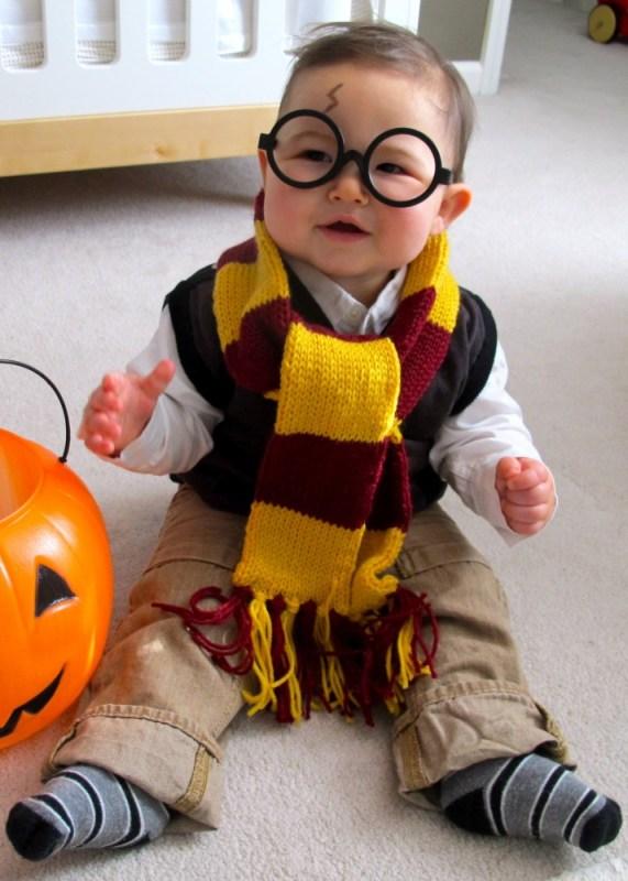 baby harry potter halloween costume