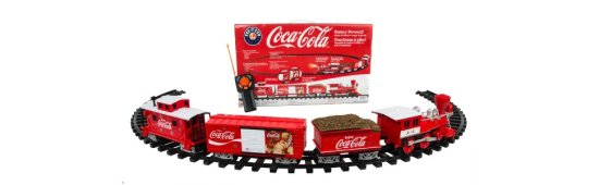 Lionel Trains Coca-Cola Holiday G-Gauge Train Set 02