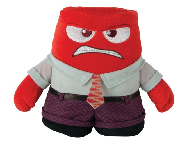 Inside Out Toy Anger Plush