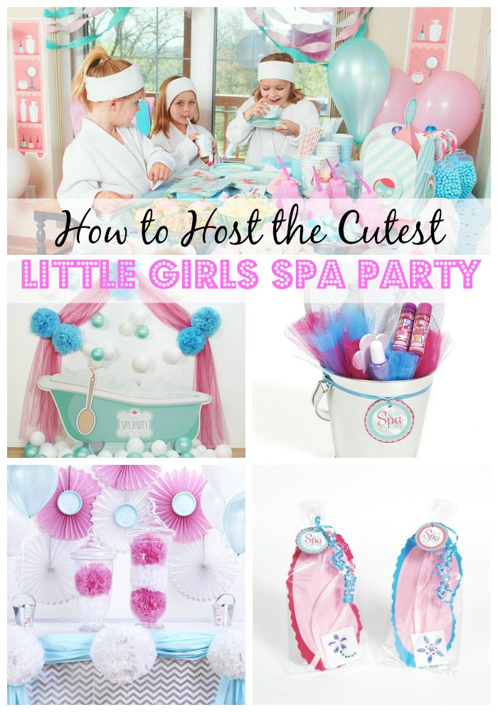 Tips, ideas and inspiration for hosting the cutest little Girls Spa Party! Spa Party Decor | Spa Party Favors | Girls Spa Party