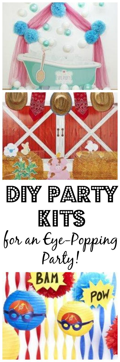 DIY Party Kits Collage
