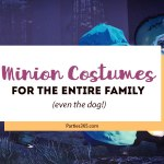 Minion Costumes for the Entire Family