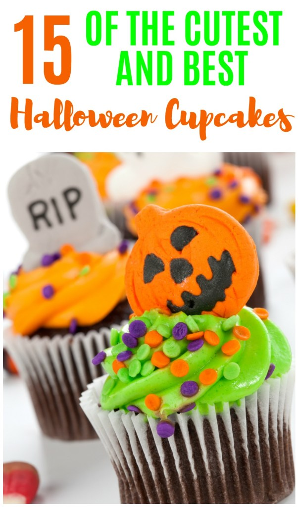 If you're on the hunt for Halloween cupcakes for a class party, office celebration or just because, these 15 ideas will help get those creative juices flowing. The ones with the 'spider webs' are awesome!