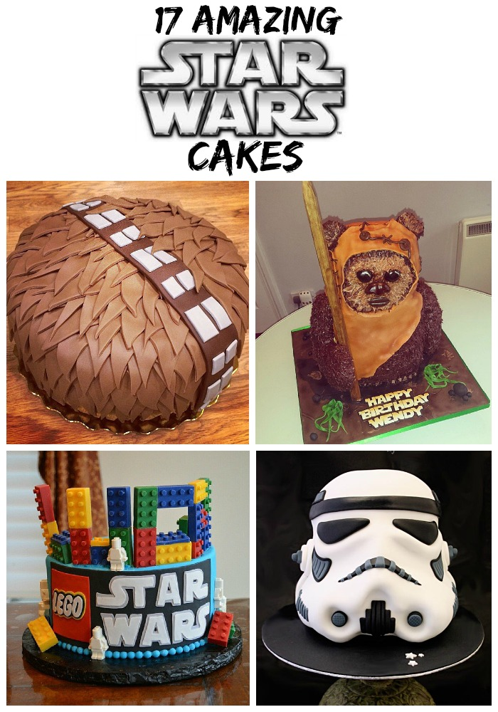 Are you looking for Star Wars cake ideas? These 17 amazing ones will blow your mind. Whether it's a Birthday party for your little boy, big boy or Star Wars crazed girl - these cake ideas will help get your creative juices flowing.