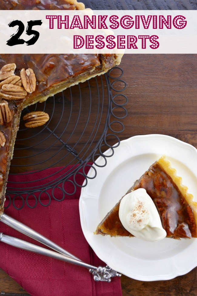 Just the two words Thanksgiving Desserts has my mouth watering. From the traditional pumpkin and pecan pies, to layered bars and cobblers, this list will definitely help you bring your Thanksgiving menu to a close.