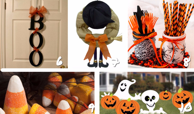 25 Fun Halloween Decor Ideas | Halloween Decorations | Not Scary Halloween Decor