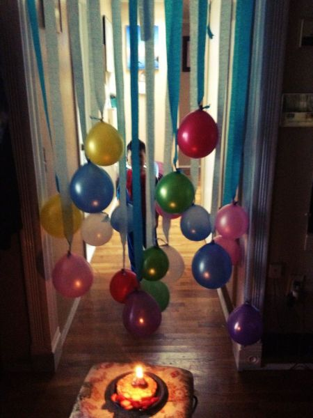 Birthday Morning Balloon Ideas for Kids