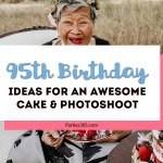 95th Birthday Party Photoshoot