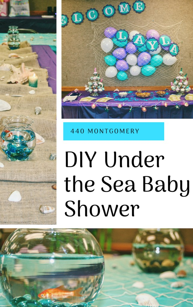 Cute DIY Under the Sea Baby Shower Ideas