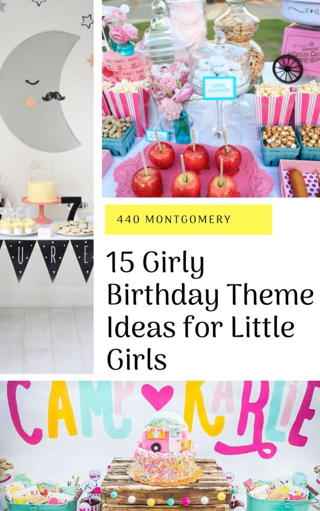 15 Girly Birthday Theme Ideas for Little Girls