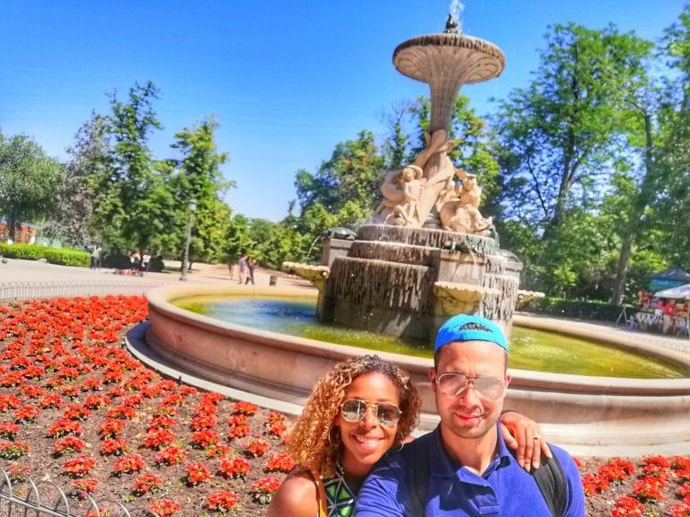 Madrid parc retiro city trip