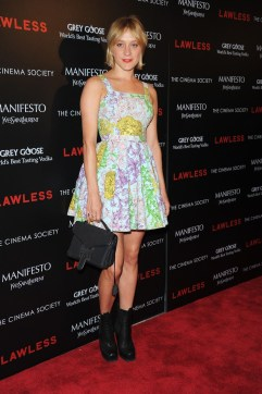 """The Cinema Society & Manifesto Yves Saint Laurent Host A Screening Of The Weinstein Company's """"Lawless"""" - Arrivals"""