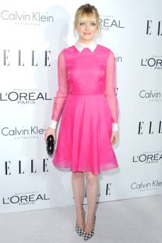 Emma Stone looked classy and cute at an Elle event.