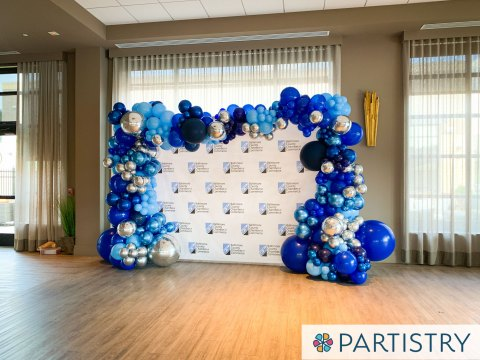 Organic Balloon Decor Step and Repeat