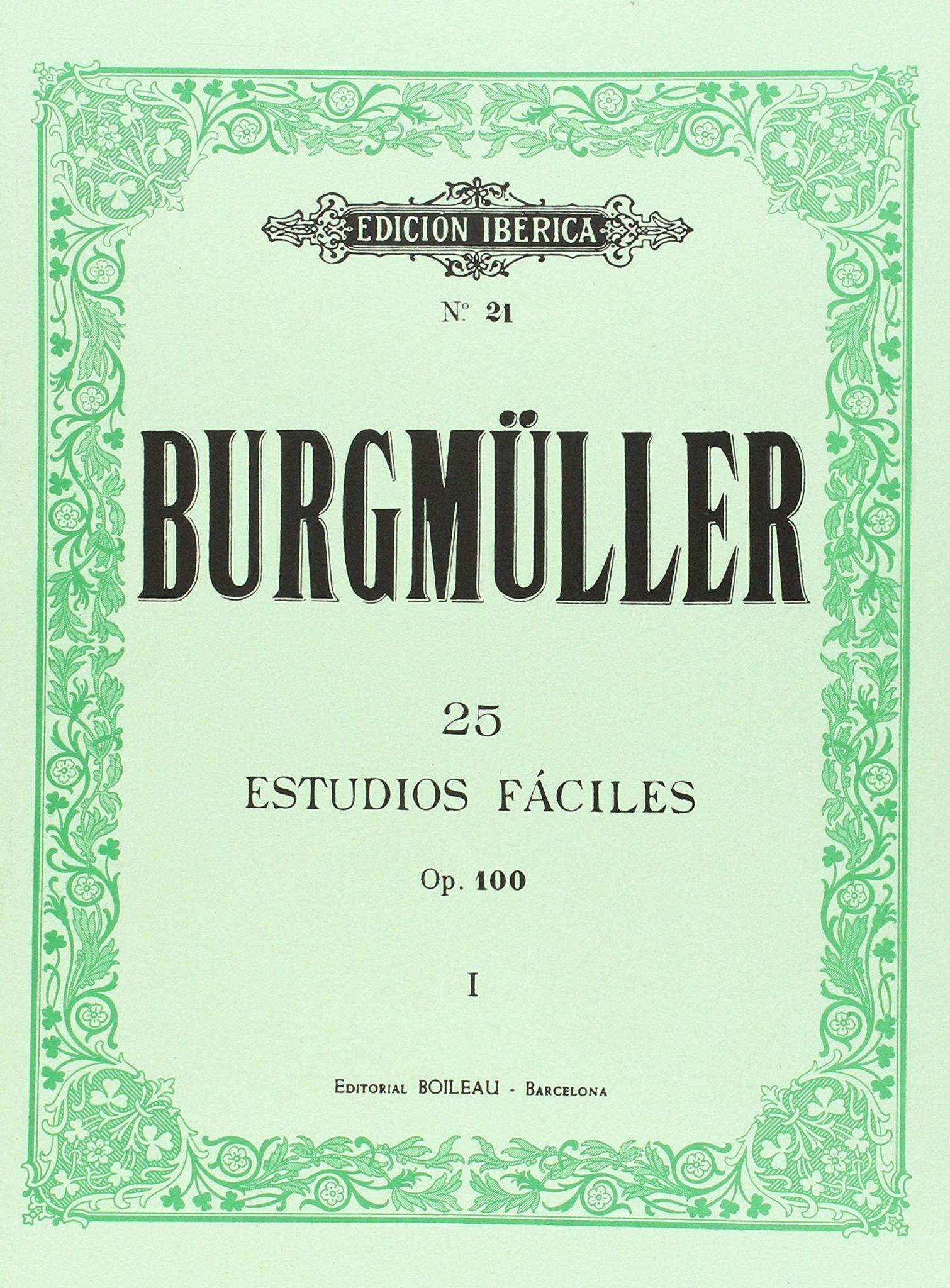 burgmuller 25 estudios faciles pdf