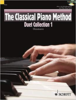 the classical piano method duet