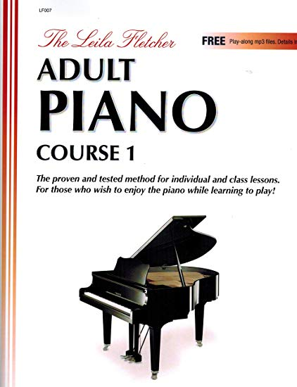 fletcher adult piano course