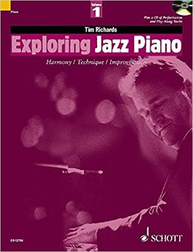 exploring jazz piano vol 1