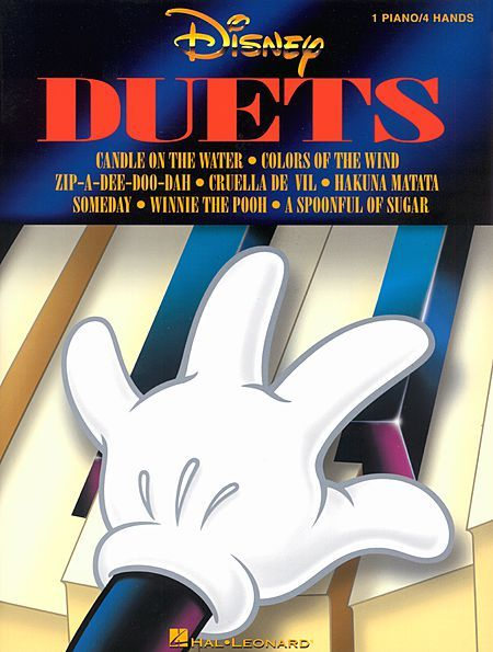 disney duets songbook piano