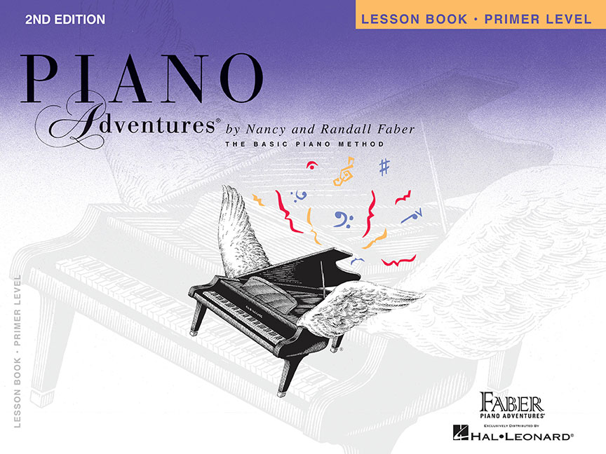 piano adventures primer level lesson book