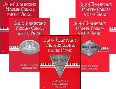 colección curso moderno para el piano john thompson