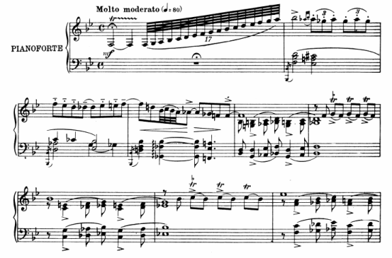 partitura piano gershwin rhapsody in blue