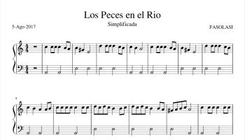Villancicos Populares Muy Faciles Piano Partiturespiano