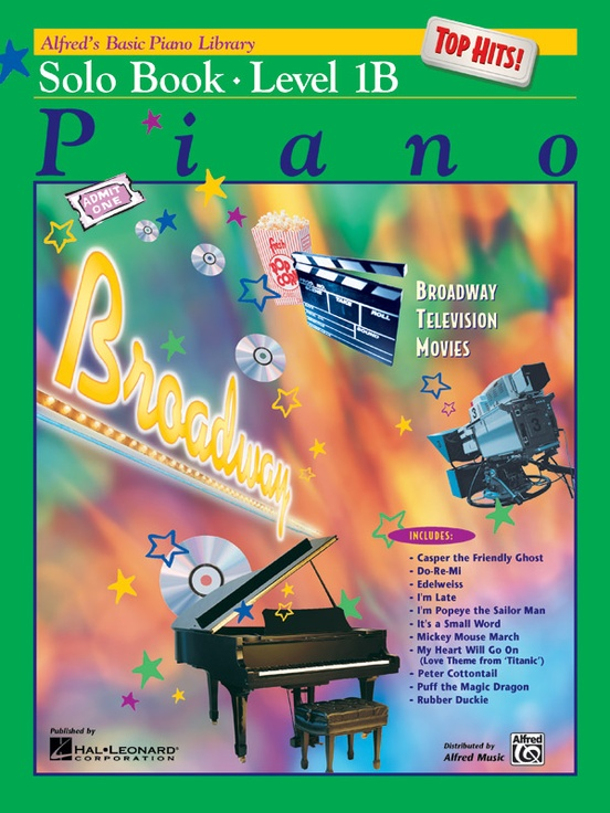alfred's basic piano course solo book