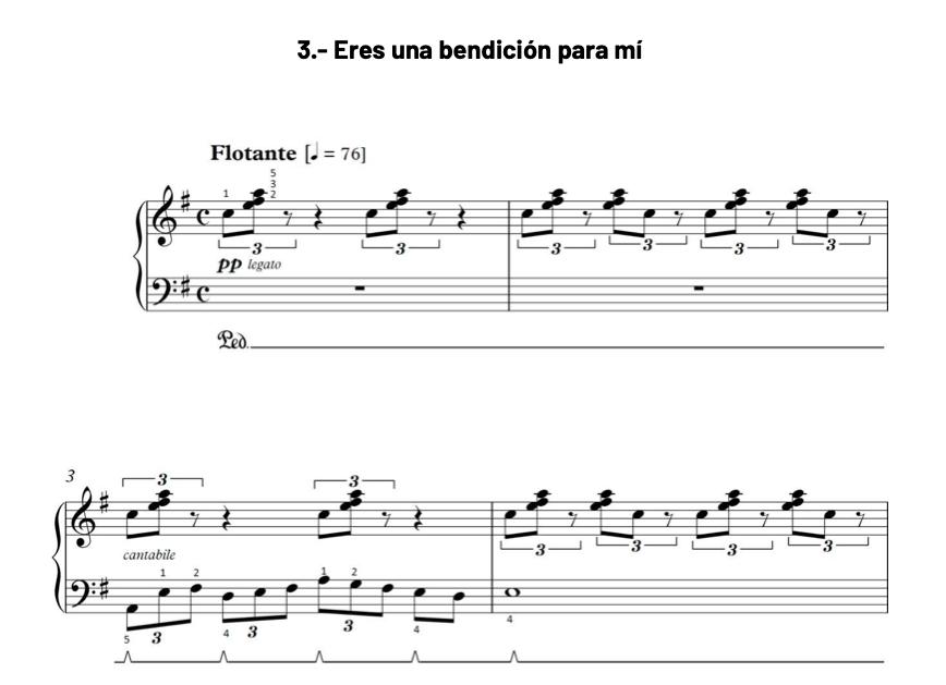 Ejemplo pieza de repertorio