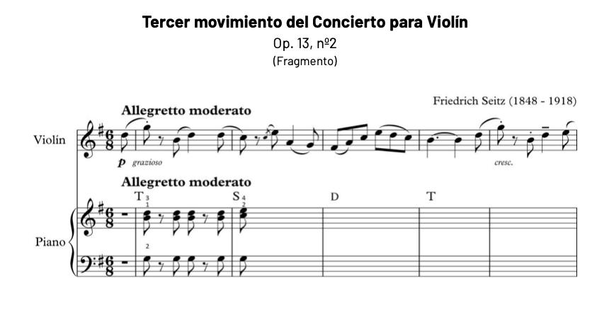 Ejemplo pieza de acompañamiento a violín