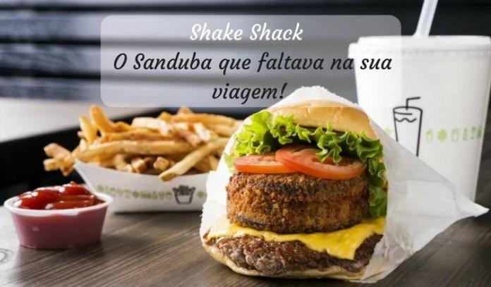 Shake Shack Orlando - Partiu Disney Parks