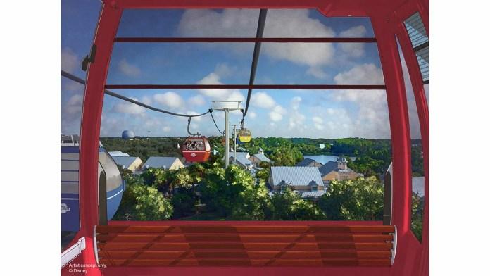 Disney lança contagem regressiva para o Disney Skyliner