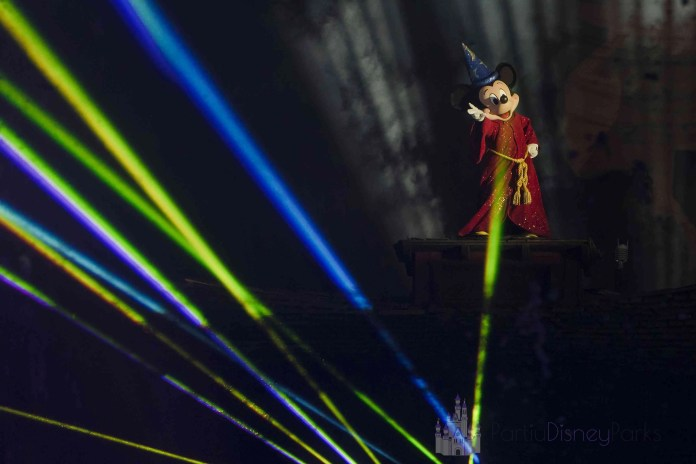 Fantasmic no Hollywood Studios