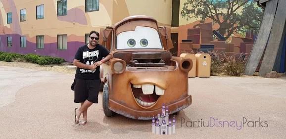 Art of Animation - Sessão do Carros - Partiu Disney Parks