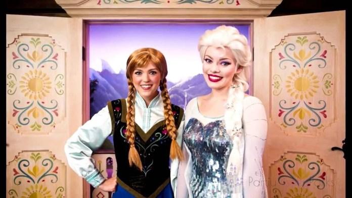 Descubra como encontrar Elsa e Anna de Frozen na Disney