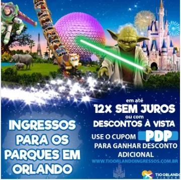 Ingressos TioOrlando Disney Parques