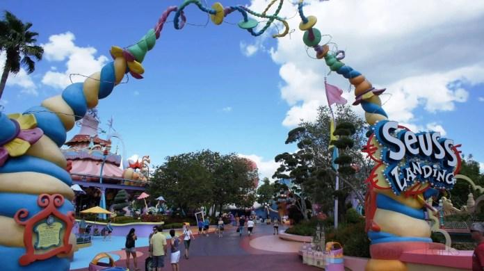 Seuss Landing en Universal's Islands of Adventure.