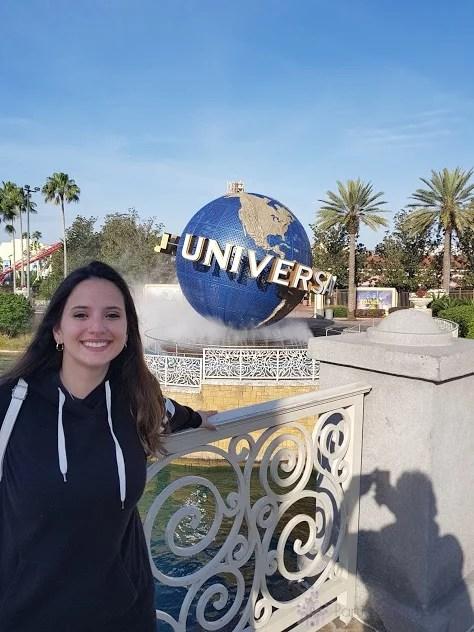 Nathalia Guedes Universal Studios