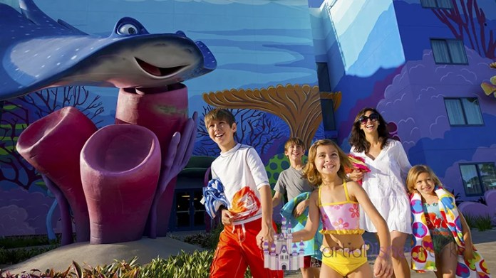 Familia Hotel da Disney